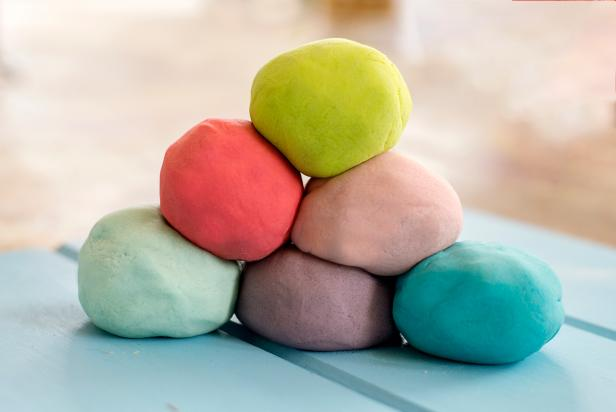 DIY Fruity Playdough