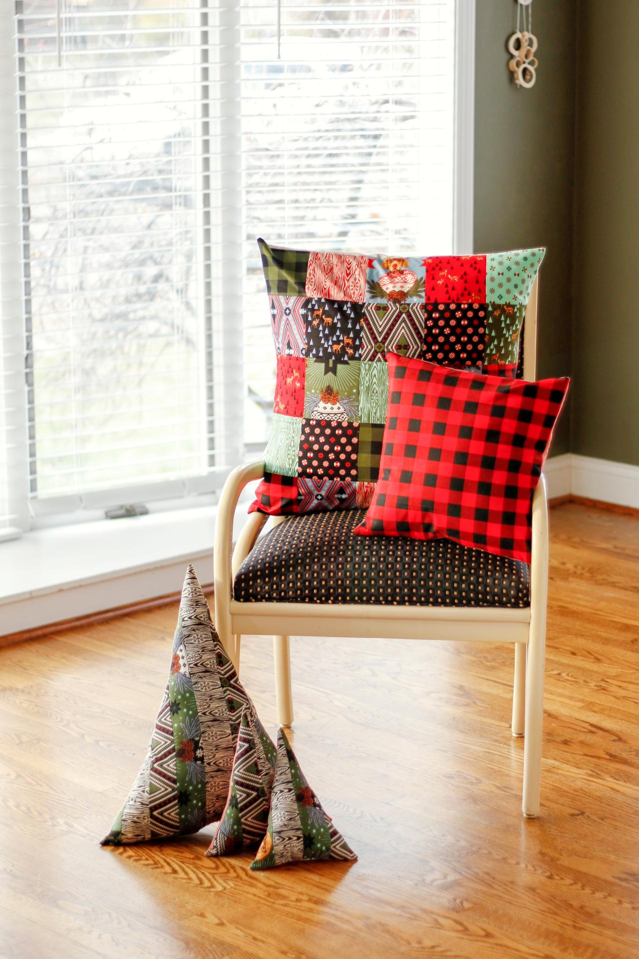 Easy Diy Christmas Pillows Three Ways Diy