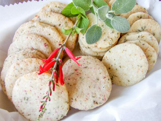 Herb Shortbread Cookies