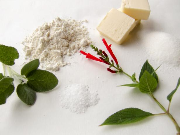 Herb Shortbread Ingredients
