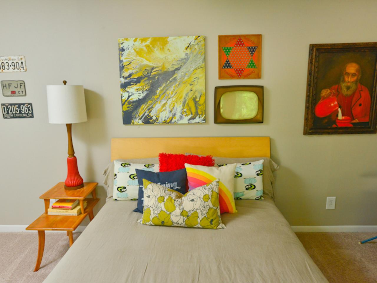 Wall Decor Tricks: Try Decorating in Threes | DIY Network Blog: Made ...