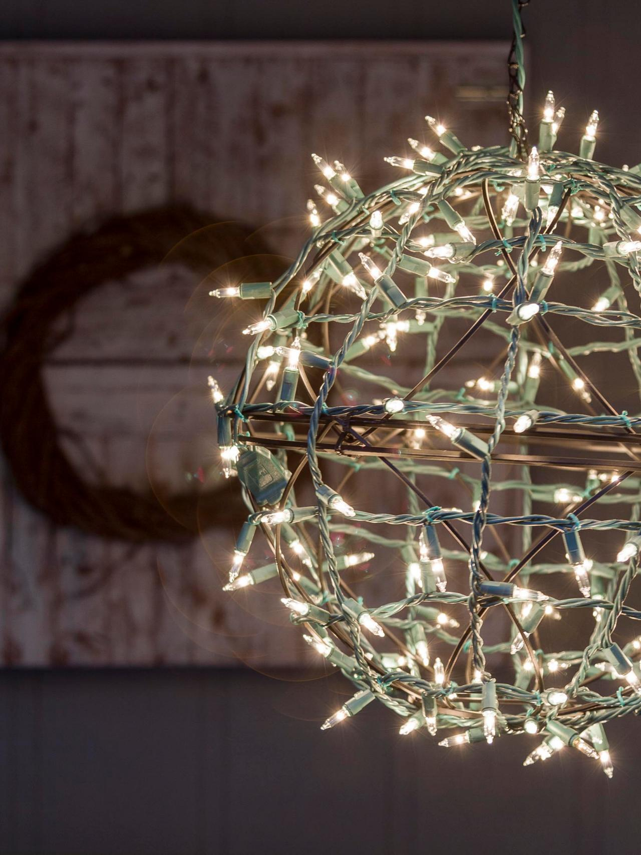 Upcycled Light Balls For Your Deck Or Porch Diy Network