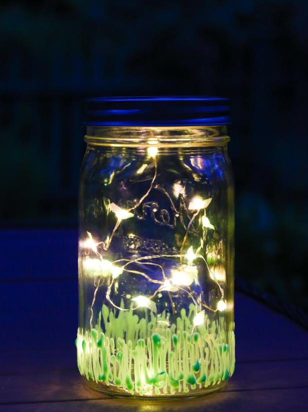 Display the Firefly Mason Jar Light