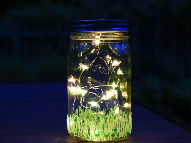 Make a Firefly Inspired Summer Mason Jar