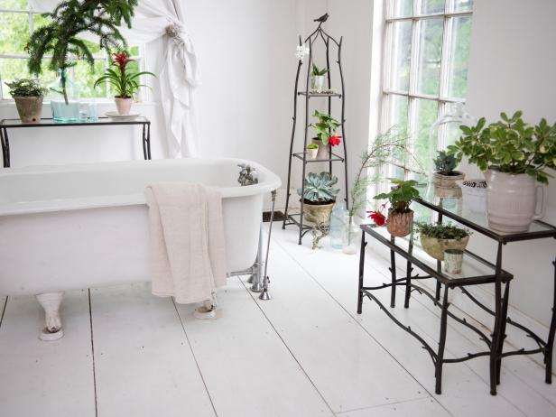 Nesting Plant Stand Bathroom