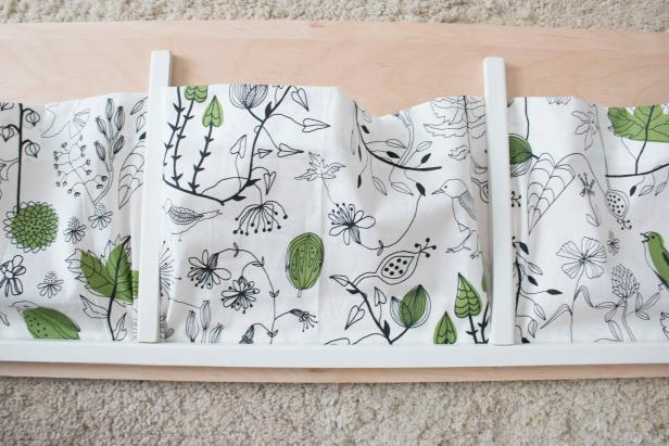 How to Make a Custom Bedside Book Organizer
