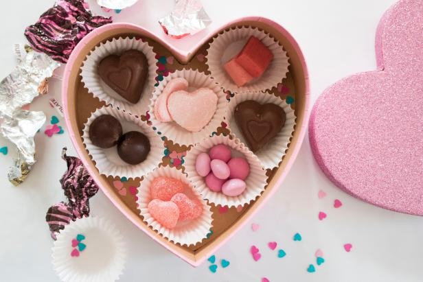 Delight your loved ones with a custom chocolate box.