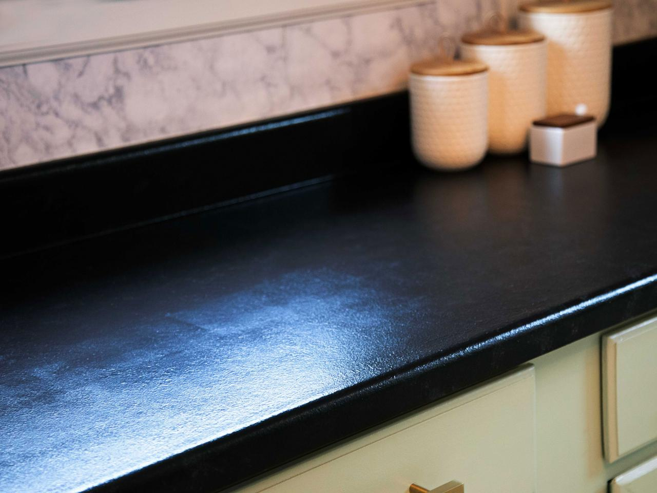 How To Paint Laminate Countertops To Look Like Stone Diy