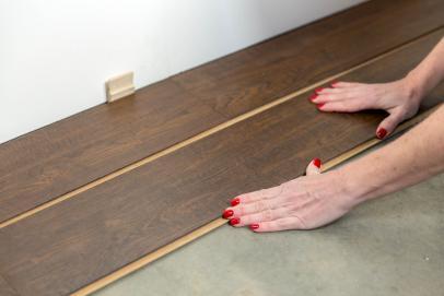 How To Install A Laminate Floor, Glueless Laminate Flooring Installation