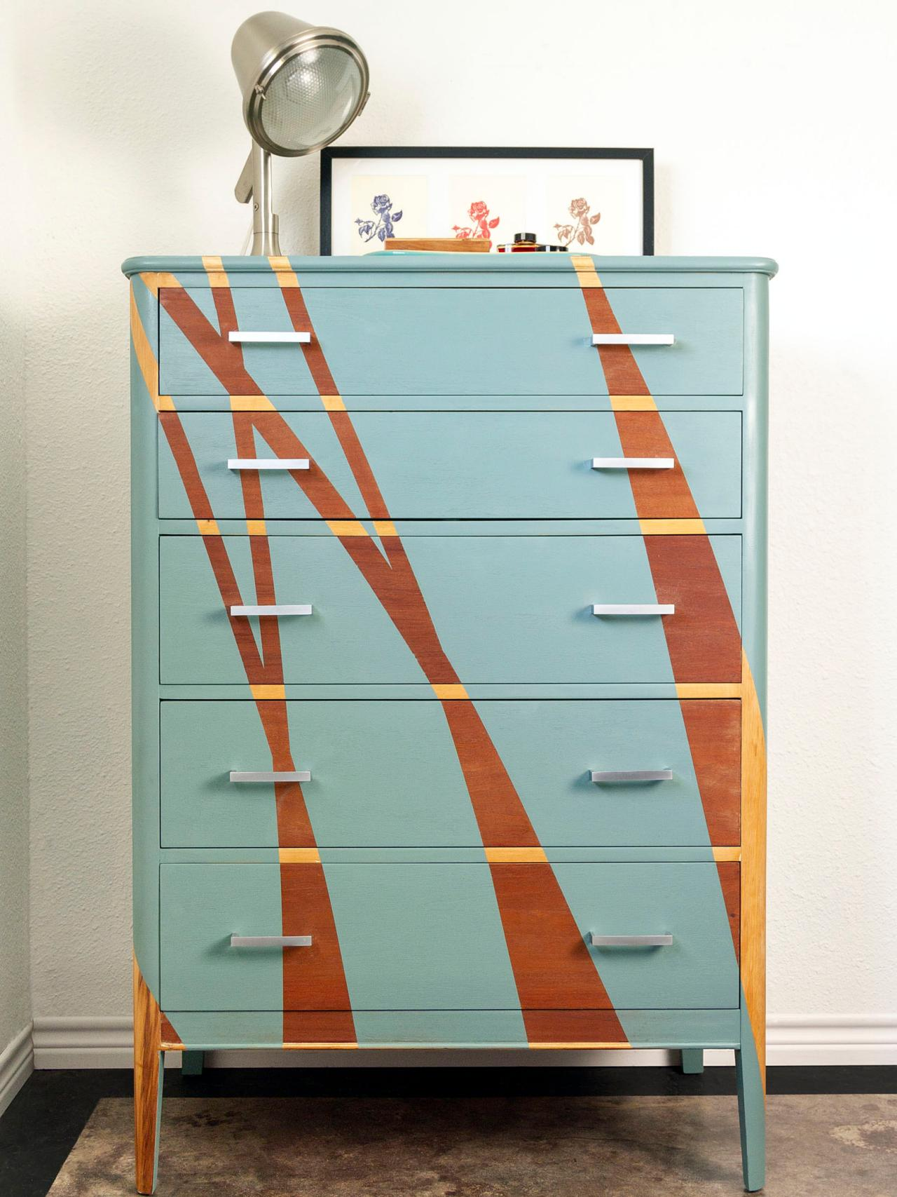 How To Give An Old Dresser A Modern Makeover Diy