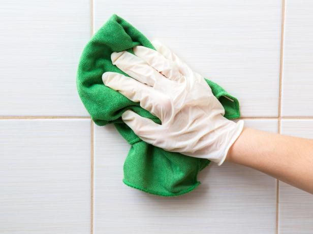 Cleaning Grout Joints