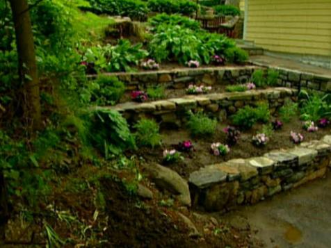 Triple Decker Retaining Walls