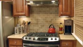 Peel-and-Stick Tile Backsplash Video | DIY