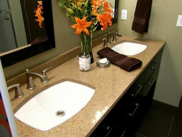 High-End Bathroom Tile Designs | HGTV