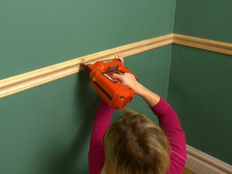 Chair Rail Install: Overview