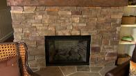 Stacked Stone Fireplace How-To
