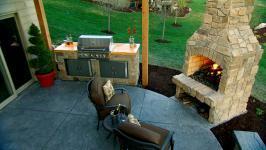 Building an Outdoor Kitchen Video DIY