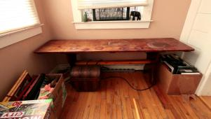 Sunroom Bench From Salvage