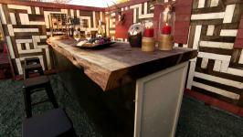 Rustic Outdoor Wine Bar 04:54