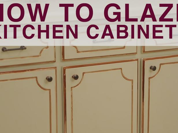 How To Glaze Kitchen Cabinets Video Diy