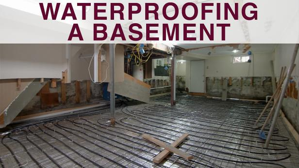 waterproofing a basement video diy rh diynetwork com