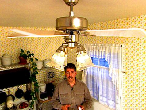 Easy Ceiling Fan Installation