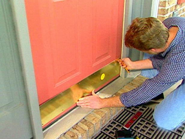 Front Door Kick Plate Video Diy