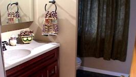 Bathroom Makeover Video DIY - Bathroom facelift