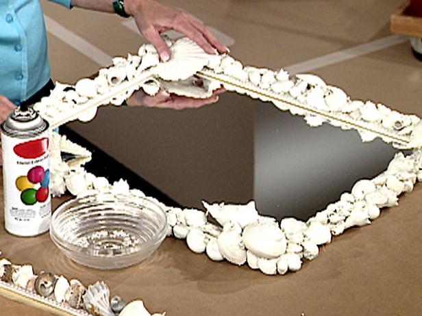 Seashell Mirror Video Diy